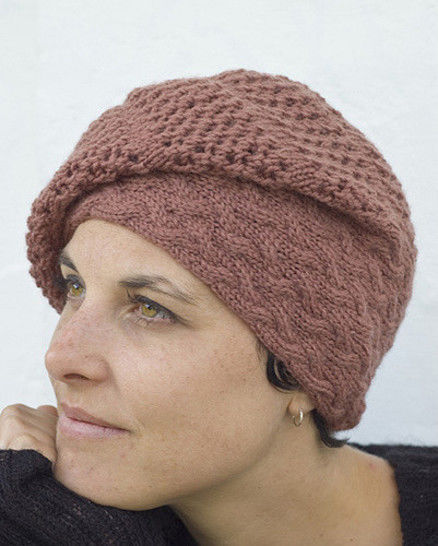 Strudel slouchy hat - knitting pattern at Makerist - Image 1