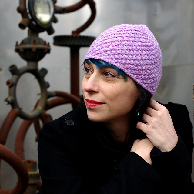 Star beanie - knitting pattern