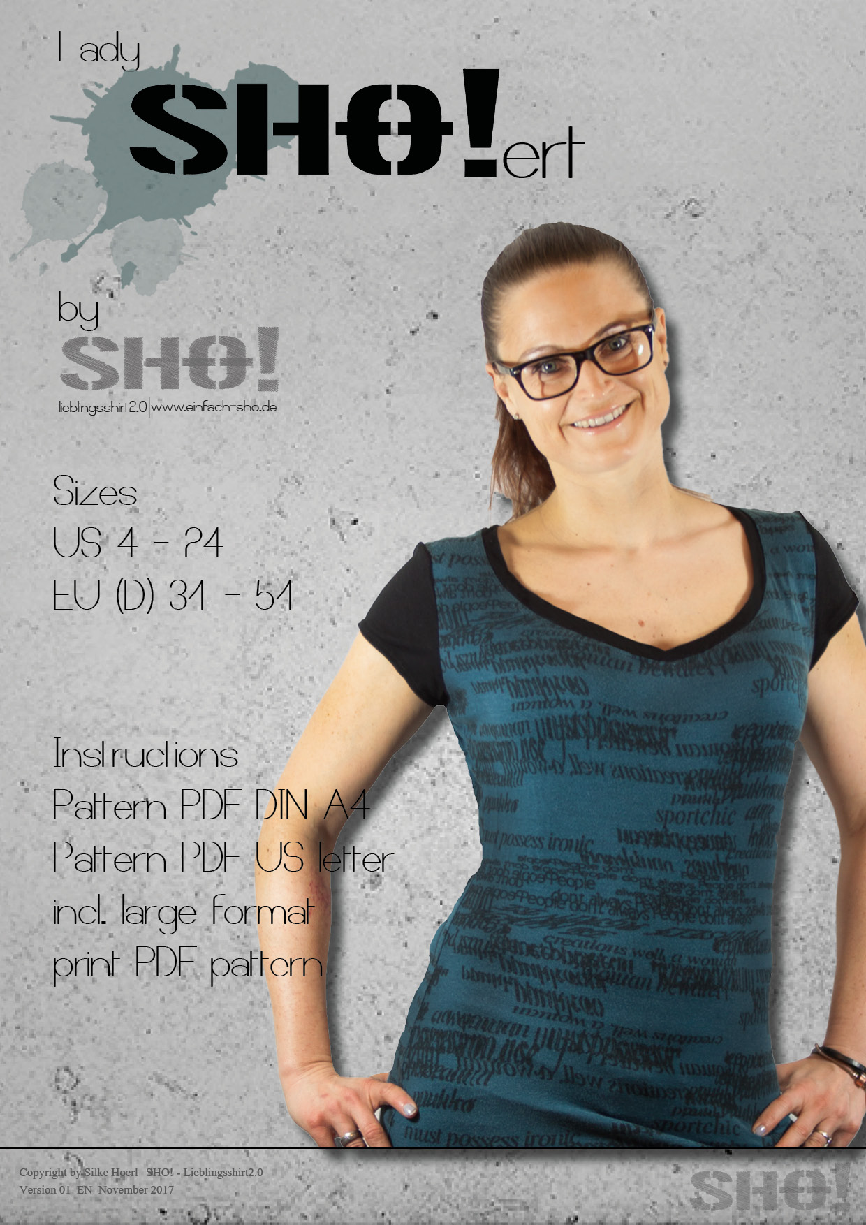 lady SHO!ert - a slimfit basic shirt
