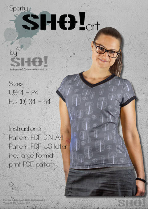 sportySHO!ert - a loose fit basic shirt