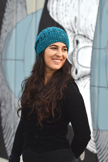 Scala slouchy hat - knitting pattern at Makerist - Image 1