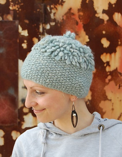 Slightly Loopy hat - knitting pattern at Makerist - Image 1