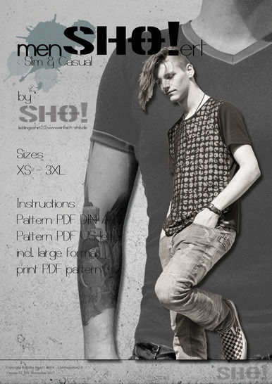 menSHO!ert slim & casual bundle at Makerist - Image 1