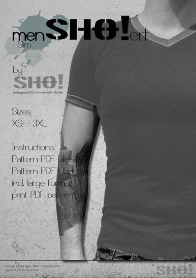 menSHO!ert slim - a slimfit basic shirt pattern at Makerist - Image 1
