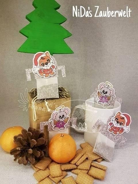 Digi- Stamp Tina and Luke goes Christmas