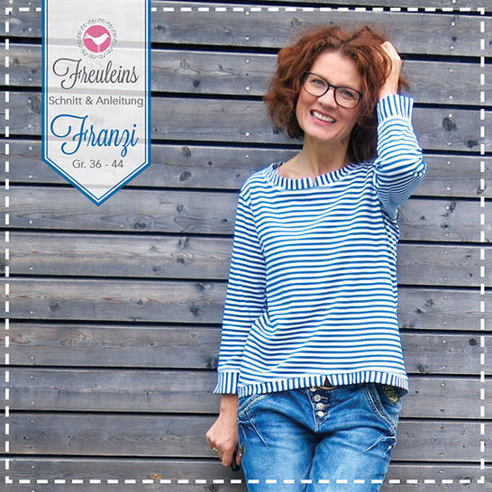 ebook Pulli Franzi Gr. 34-44 bei Makerist - Bild 1