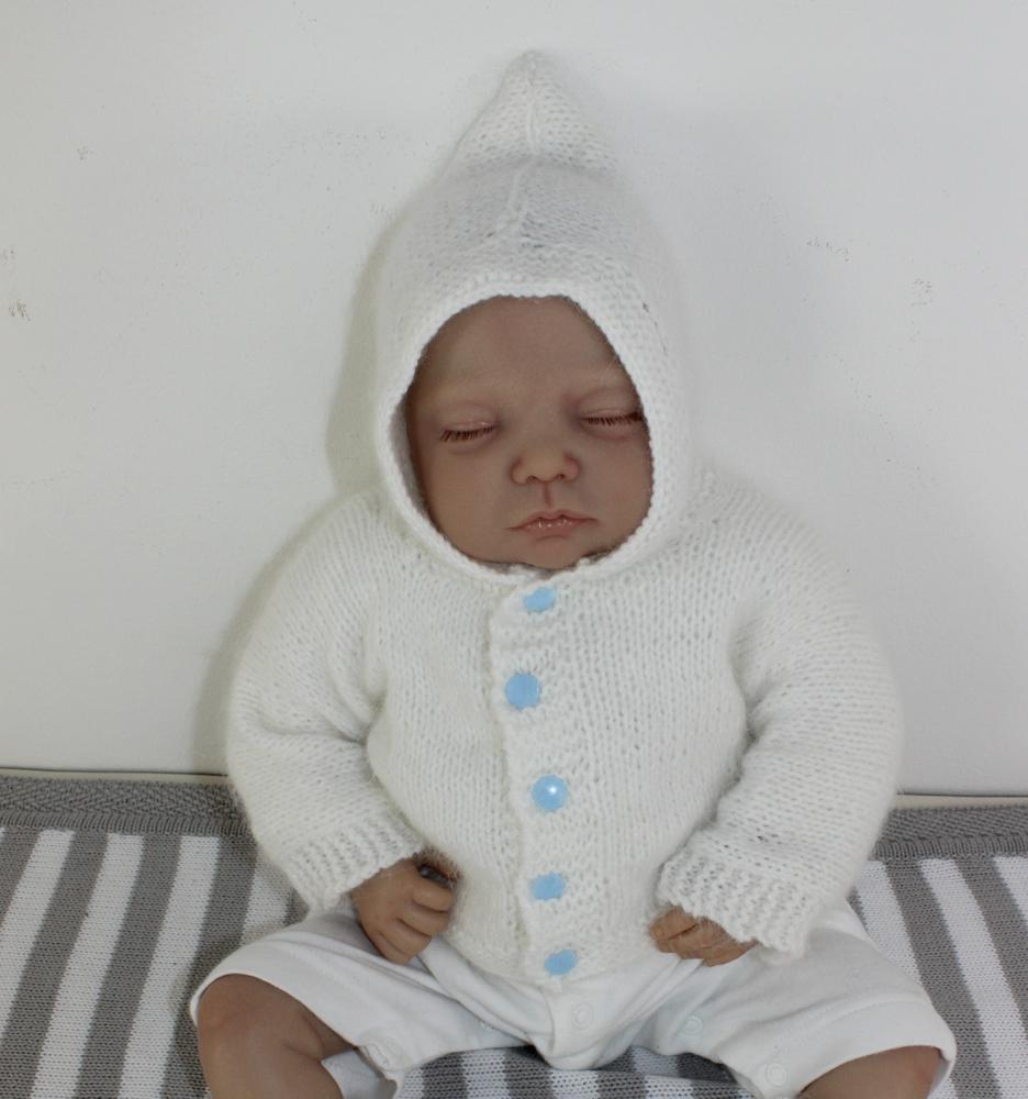 Baby Fluffy Hoodie and Booties