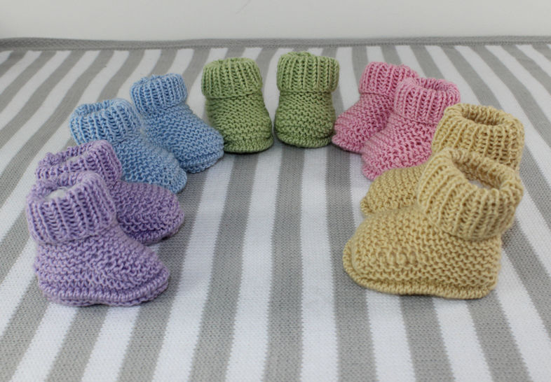 New Baby Everyday Booties at Makerist - Image 1