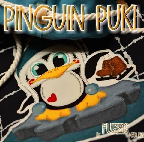 "Applikationsvorlage Pinguin ""Puki"" bei Makerist"