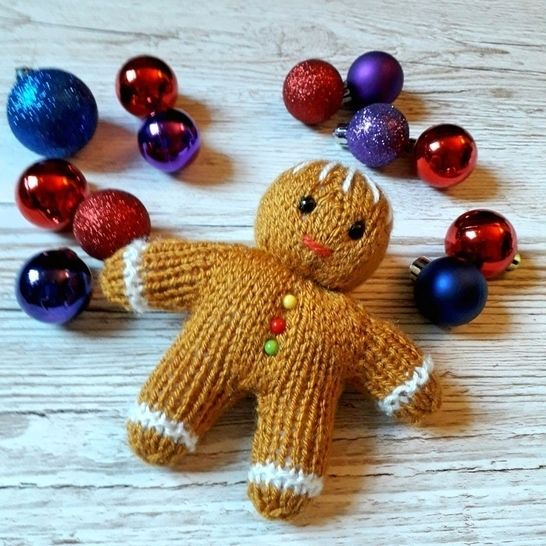 Gingerbread Man Christmas Decoration at Makerist - Image 1