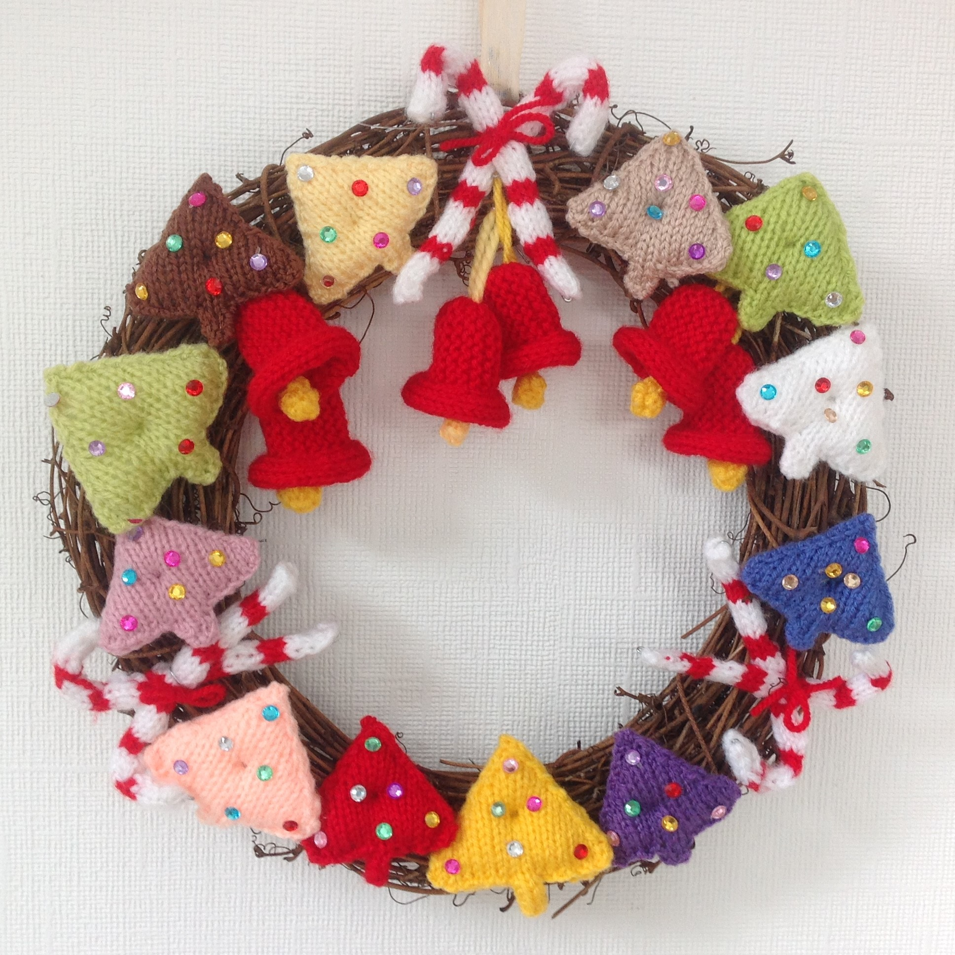 A Festive Christmas Wreath