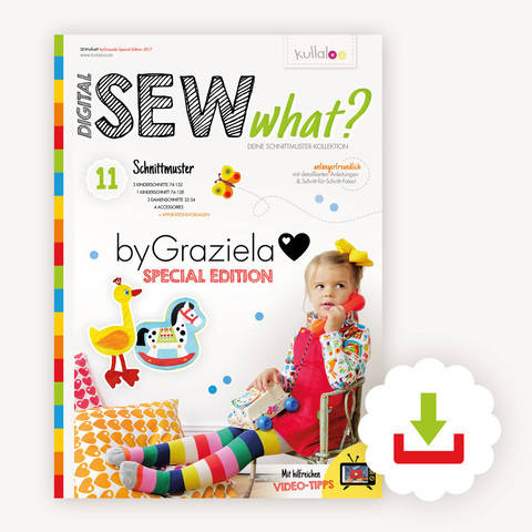 Schnittmusterkollektion SEWwhat? byGraziela Special Edition  bei Makerist