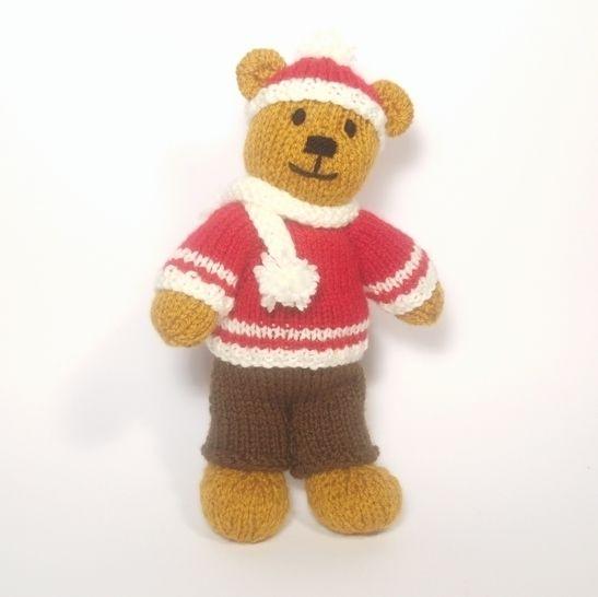 Christmas Bitsy Boy Teddy at Makerist - Image 1