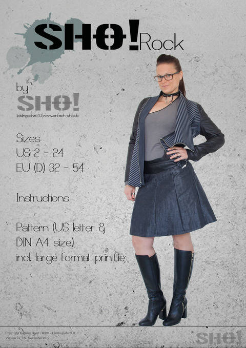 SHO!Rock - a pleated skirt at Makerist