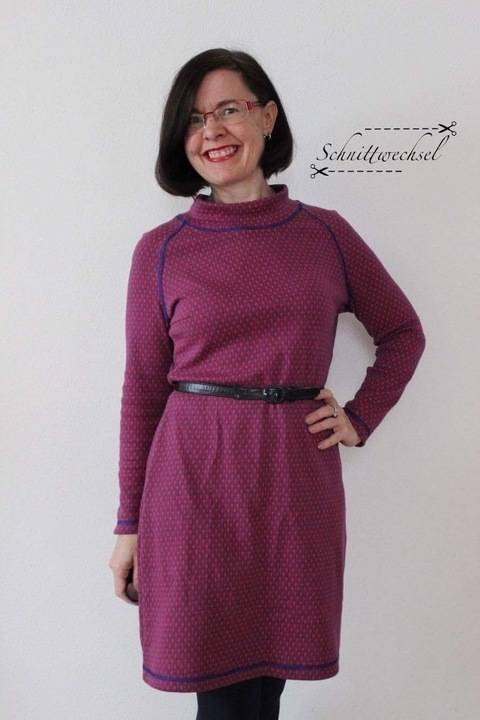 Kleid Petite-Susi Gr. 34-52, PDF-Schnittmuster A4, A0