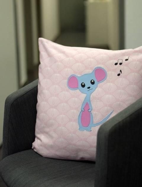 Mäusekind Lala - Applikationsvorlage bei Makerist