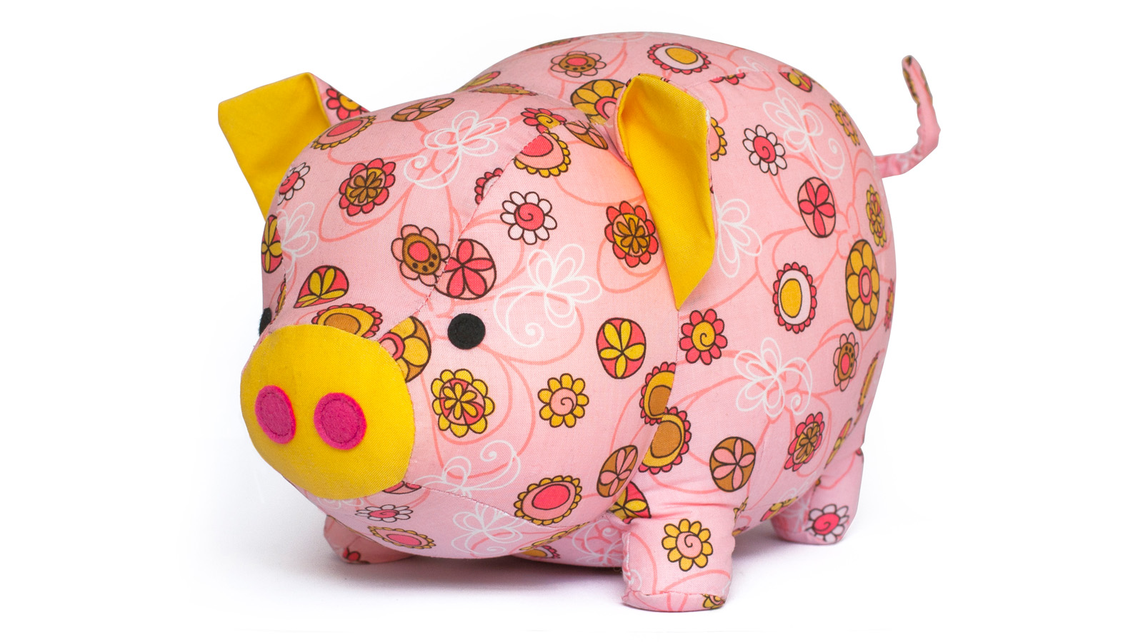 Cute Pig sewing toy pattern
