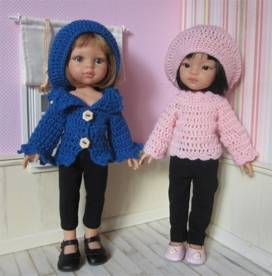 Romane : crochet outfit for 32-33 cm doll at Makerist - Image 1