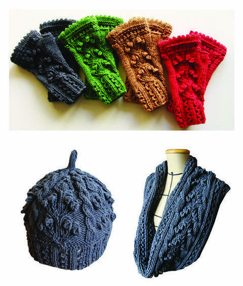 Ensemble Eireen - Bonnet, Mitaines et Snood  chez Makerist