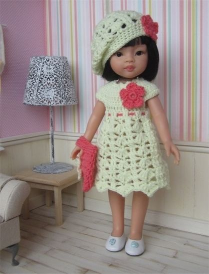 Jeanne : crochet outfit for 32-33 cm doll at Makerist - Image 1