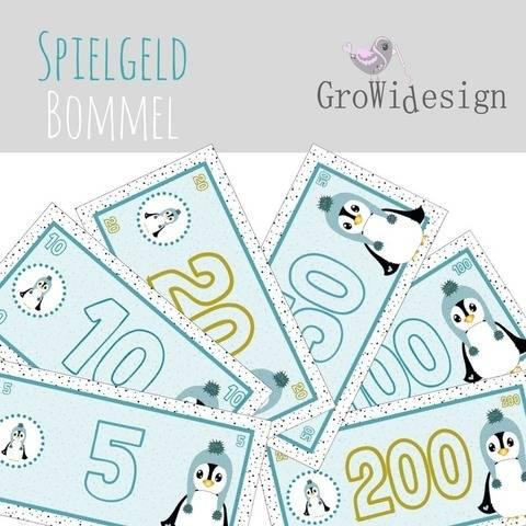 KInderspielgeld Bommel  Print, DigiStamp