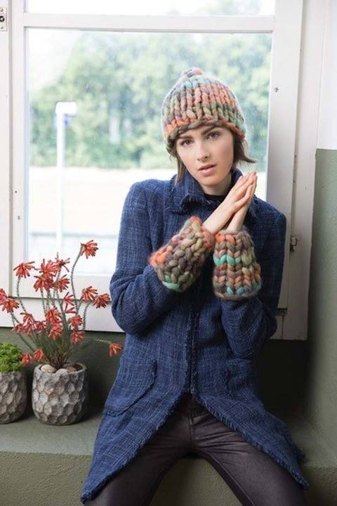 Smilla Hat and Mittens at Makerist