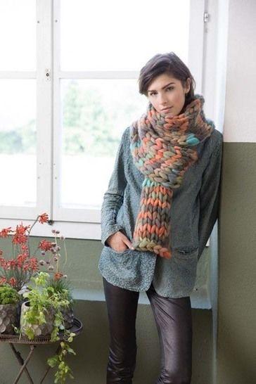 Écharpe à tricoter chez Makerist - Image 1