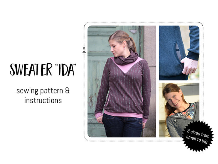 "Sweater ""Ida""  at Makerist - Image 1"