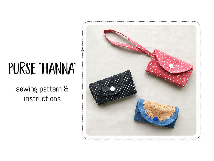 "Purse ""Hanna"" at Makerist - Image 1"