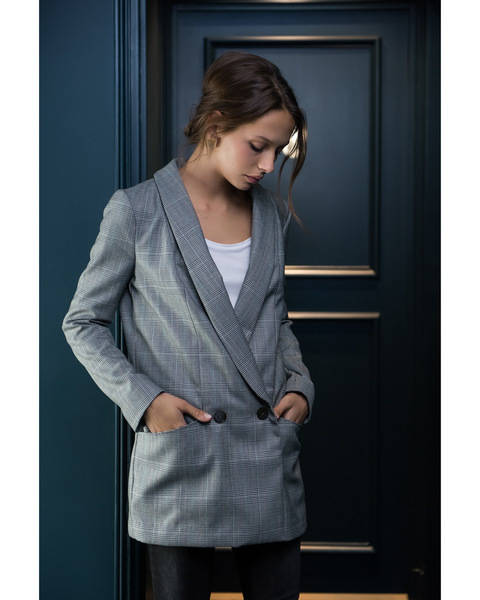 AMSTERDAM blazer - sewing pattern and tutorial with detailed instructions at Makerist