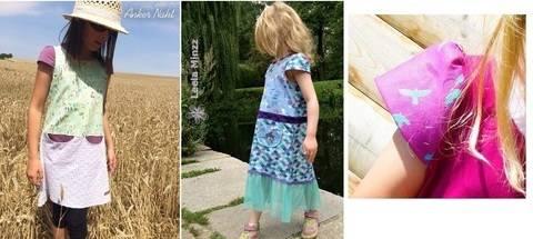 Ebook-Ergänzung OliVera Kleidchenlänge Käppchenärmel  bei Makerist