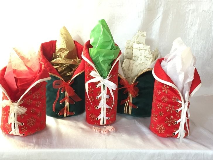 Gift bags, wine bag with lacing at Makerist - Image 1