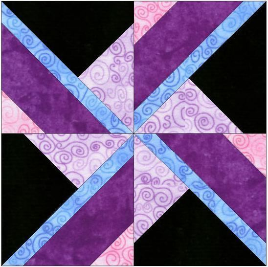 Spinning Dreams 15 Inch Template Quilting Pattern at Makerist - Image 1