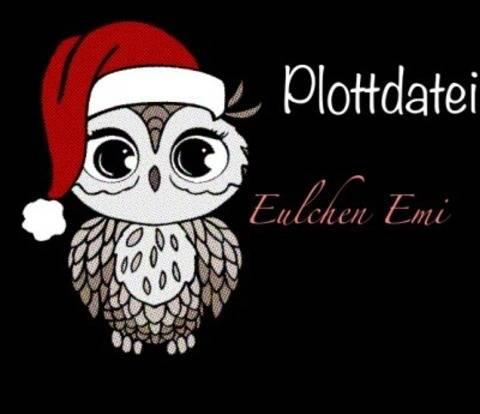 """Plotterdatei """"Eulchen Emi"""" - SVG und DXF Format  bei Makerist"""
