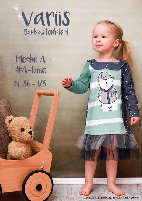 Kleid variis -Modul A- Gr. 86-128 bei Makerist