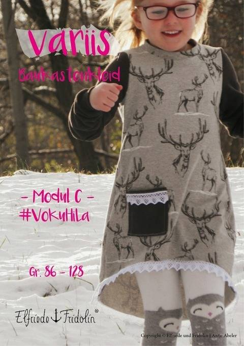Kleid variis -Modul C- Gr. 86-128 bei Makerist
