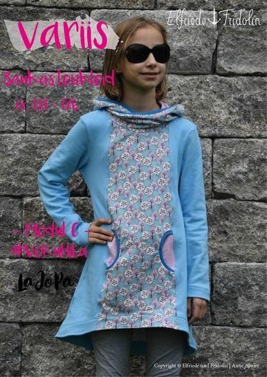 Kleid variis -Modul C- Gr. 134-176 bei Makerist - Bild 1