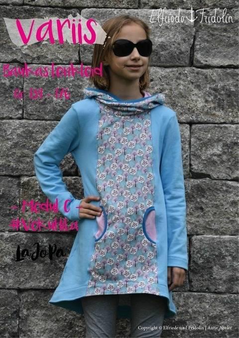 Kleid variis -Modul C- Gr. 134-176 bei Makerist