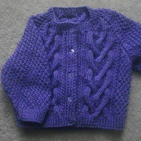 Cliodhna toddler cardigan - knitting pattern at Makerist - Image 1