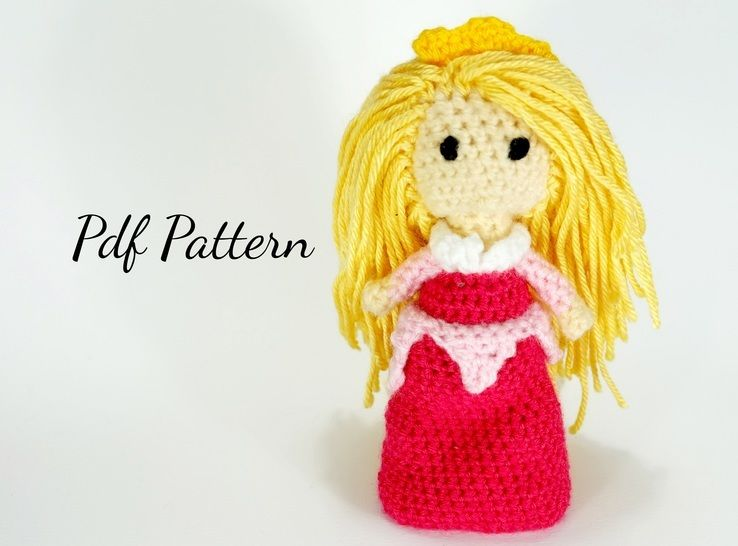 Doll Princess Inspired by Aurora the Sleeping Beauty - Crochet Pattern at Makerist - Image 1