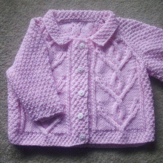 Niamh girls cardigan - knitting pattern at Makerist - Image 1