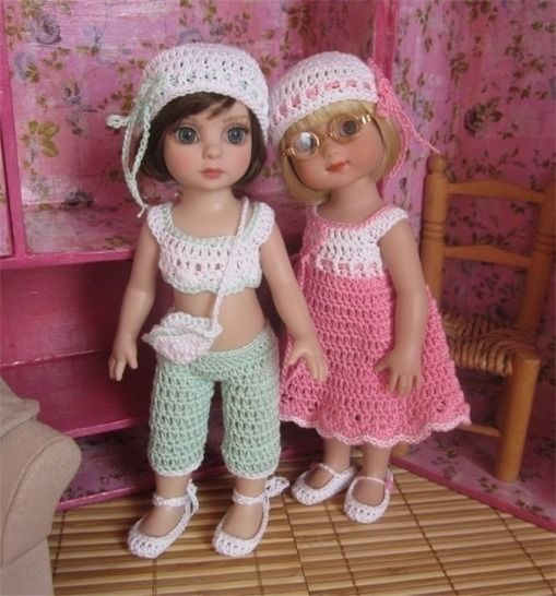 Pastel- Crochet outfit for Ann Estelle or Patsy Doll at Makerist - Image 1