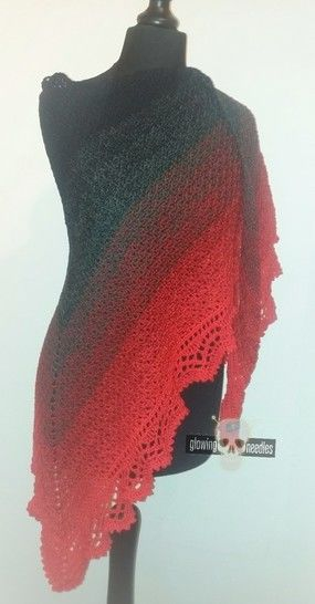 "Crochet Pattern ""Blossom"" shawl at Makerist - Image 1"