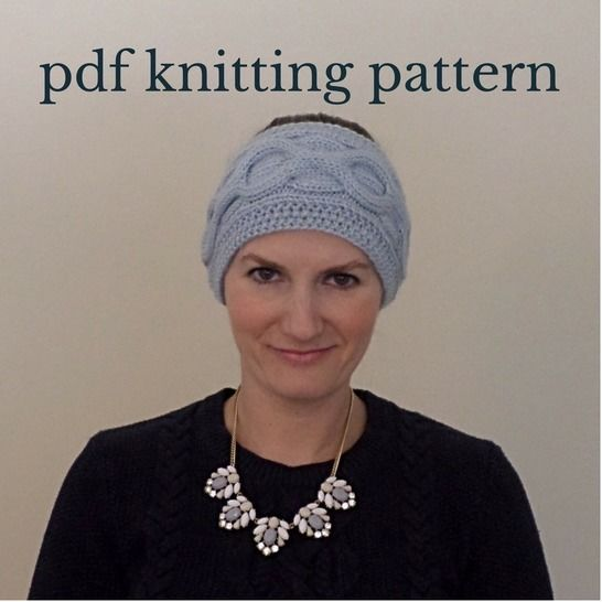 Cable Knit Headband Knitting Pattern at Makerist - Image 1