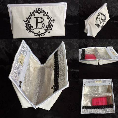 Cosmetic bag Shell pouch