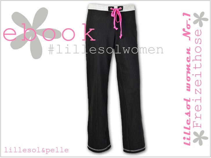 Ebook / Nähanleitung Damen Freizeithose bei Makerist - Bild 1
