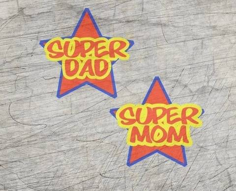 """Super Mom& Dad"" Plotterdatei"