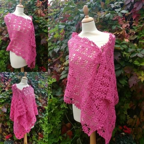 Rosy Crochet Wrap Pattern