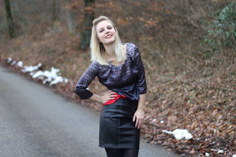 Pencil Skirt Schnittmuster & Anleitung by Sewera