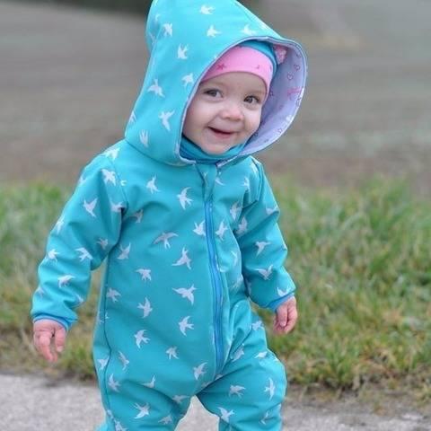 Frozen emi - Outdooreinteiler Gr. 56-98 bei Makerist